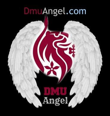 dmu angel logo without border